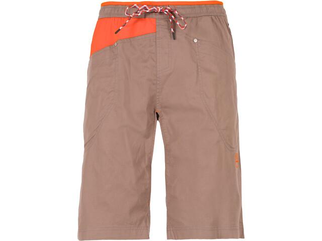 La Sportiva Bleauser Shorts Herre falcon brown/pumpkin